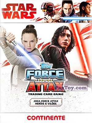 PaxToy Continente: Star Wars Force Attax 100 Cards 2017