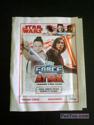 PaxToy Continente   2017 Star Wars Force Attax Pack 01