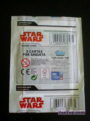 PaxToy Continente   2017 Star Wars Force Attax Pack 02