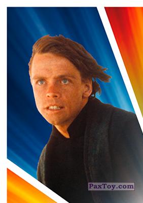 PaxToy.com - S01 Luke Skywalker из Carrefour: Star Wars El Camino De Los Jedi (Stickers)