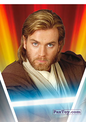 PaxToy.com - S02 Obi-Wan Kenobi из Carrefour: Star Wars El Camino De Los Jedi (Stickers)