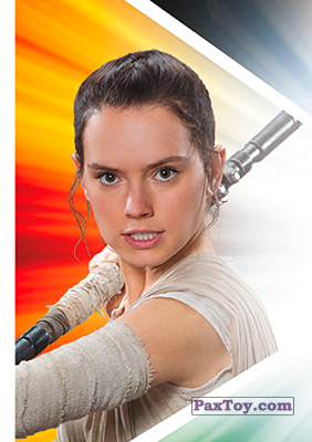 PaxToy.com - S04 Rey из Carrefour: Star Wars El Camino De Los Jedi (Stickers)