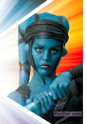 PaxToy.com - S06 Aayla Secura из Carrefour: Star Wars El Camino De Los Jedi (Stickers)
