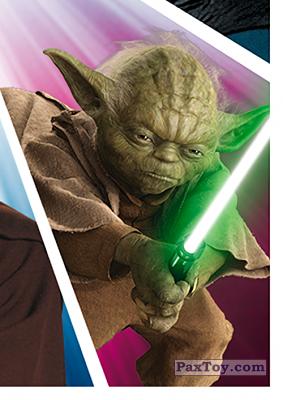 PaxToy.com - S07 Yoda из Carrefour: Star Wars El Camino De Los Jedi (Stickers)