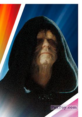 PaxToy.com - S12 Emperor Palpatine из Carrefour: Star Wars El Camino De Los Jedi (Stickers)
