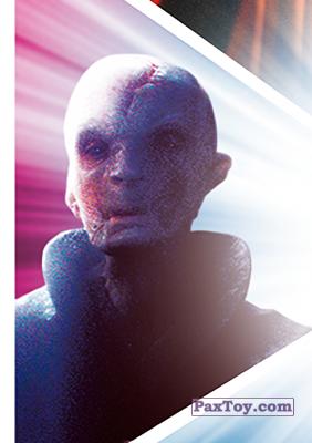 PaxToy.com - S13 Snoke из Carrefour: Star Wars El Camino De Los Jedi (Stickers)