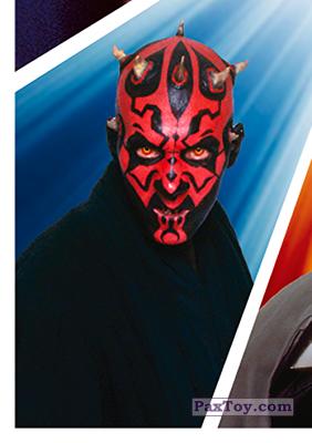PaxToy.com - S16 Darth Maul из Carrefour: Star Wars El Camino De Los Jedi (Stickers)