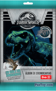 PaxToy Supermercados DIA 2018 Jurassic World default Pack