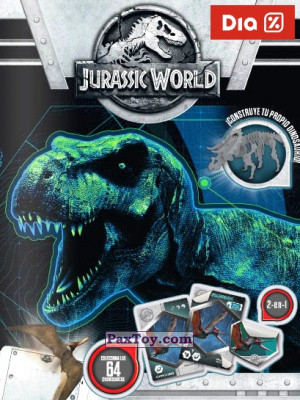 PaxToy Supermercados DIA: Jurassic World - Cards