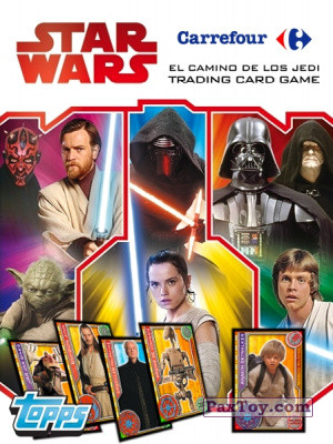 PaxToy Topps   2017 Star Wars El Camino De Los Jedi from Carrefour   logo tax