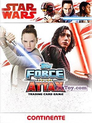 PaxToy Topps: Star Wars Force Attax Heroes y Villanos from Continente
