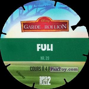 PaxToy.com - 29 Fuli (La Garde du Roi Lion) (Сторна-back) из Simply Market: Super Flizz 2