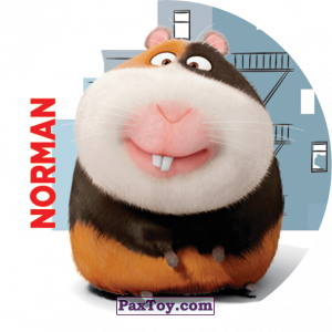 PaxToy.com - 001 Norman из Cheetos: La Vida Secreta De Tus Mascotas