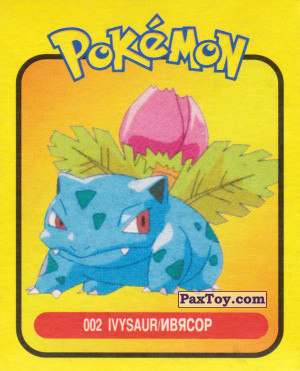 PaxToy.com - 002 Ivysaur / Ивясор из Pokemon mini BOX