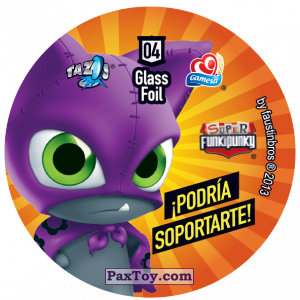 PaxToy.com - 004 Nuts (Сторна-back) из Sabritas: Super Funki Punky