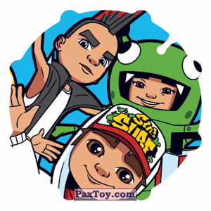 PaxToy.com - 005 Spike & Yutani & Jake_Back из Sabritas: Subway surfers
