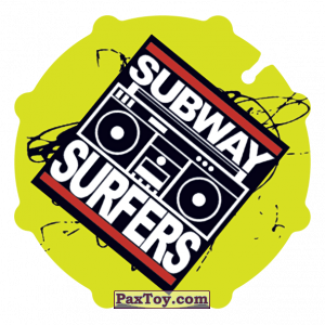 PaxToy.com - 008 Sabway Surfers из Sabritas: Subway surfers