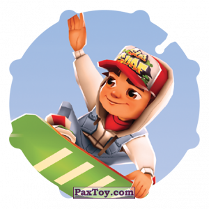 PaxToy.com - 013 Jake из Sabritas: Subway surfers