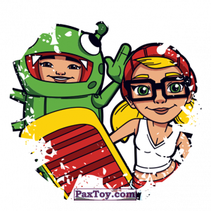 PaxToy.com - 022 Yutani & Tricky из Sabritas: Subway surfers
