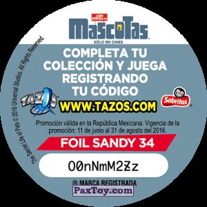 PaxToy.com - 034 Alitas (Сторна-back) из Cheetos: La Vida Secreta De Tus Mascotas