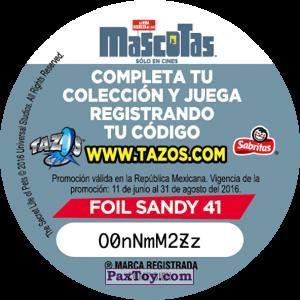 PaxToy.com - 041 Alitas (Сторна-back) из Cheetos: La Vida Secreta De Tus Mascotas