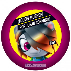 PaxToy.com - 041 Ema из Gamesa: Super Funki Punky