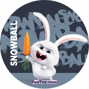 PaxToy.com - 042 Snowball из Cheetos: La Vida Secreta De Tus Mascotas