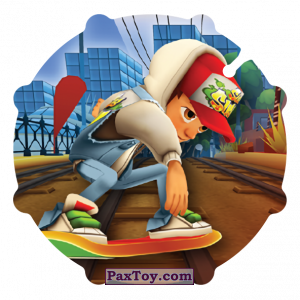 PaxToy.com - 044 Jake из Sabritas: Subway surfers