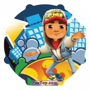 PaxToy.com - 046 Jake из Sabritas: Subway surfers