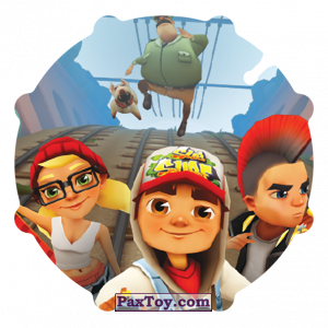 PaxToy.com - 048 Tricky & Jake & Spike из Gamesa: Subway surfers