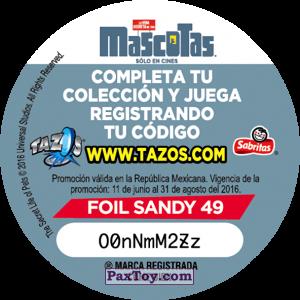 PaxToy.com - 049 Buddy (Сторна-back) из
