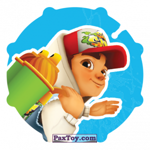 PaxToy.com - 049 Jake из Sabritas: Subway surfers