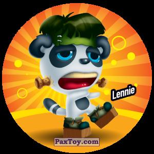 PaxToy.com  Фишка / POG / CAP / Tazo 052 Lennie из Gamesa: Super Funki Punky