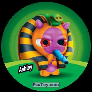 PaxToy.com  Фишка / POG / CAP / Tazo 058 Ashley из Gamesa: Super Funki Punky