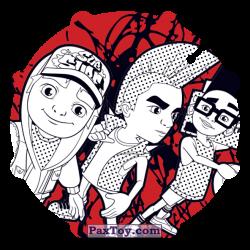 PaxToy 063 Jake, Spike & Fresh