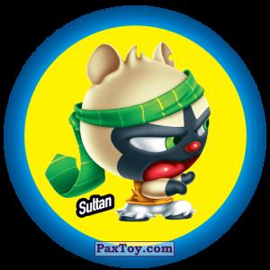 PaxToy.com  Фишка / POG / CAP / Tazo 065 Sultan из Gamesa: Super Funki Punky