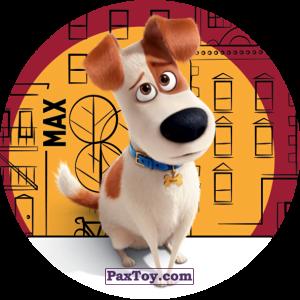 PaxToy.com  Фишка / POG / CAP / Tazo 066 Max из Cheetos: La Vida Secreta De Tus Mascotas