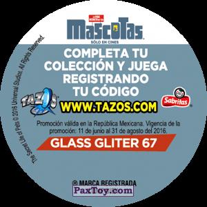 PaxToy.com - Фишка / POG / CAP / Tazo 067 Gidget (Сторна-back) из Cheetos: La Vida Secreta De Tus Mascotas