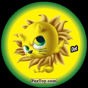 PaxToy.com  Фишка / POG / CAP / Tazo 069 Dot из Gamesa: Super Funki Punky