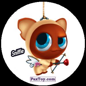 PaxToy.com  Фишка / POG / CAP / Tazo 071 Sniffie из Gamesa: Super Funki Punky
