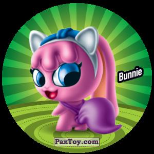 PaxToy.com  Фишка / POG / CAP / Tazo 077 Bunnie из Gamesa: Super Funki Punky