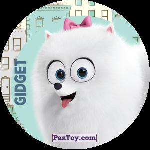 PaxToy.com  Фишка / POG / CAP / Tazo 078 Gidget из Cheetos: La Vida Secreta De Tus Mascotas