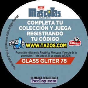 PaxToy.com - Фишка / POG / CAP / Tazo 078 Gidget (Сторна-back) из Cheetos: La Vida Secreta De Tus Mascotas