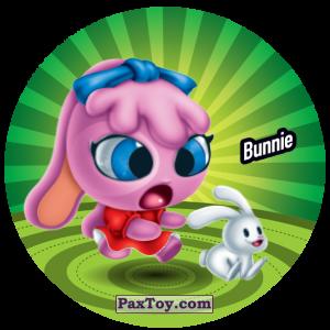 PaxToy.com  Фишка / POG / CAP / Tazo 081 Bunnie из Gamesa: Super Funki Punky
