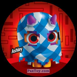PaxToy.com  Фишка / POG / CAP / Tazo 084 Ashley из Gamesa: Super Funki Punky