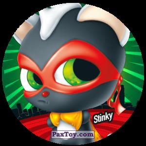 PaxToy.com  Фишка / POG / CAP / Tazo 086 Stinky из Gamesa: Super Funki Punky