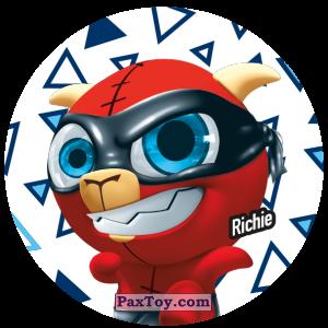 PaxToy.com  Фишка / POG / CAP / Tazo 094 Richie из Gamesa: Super Funki Punky