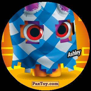 PaxToy.com  Фишка / POG / CAP / Tazo 097 Ashley из Gamesa: Super Funki Punky