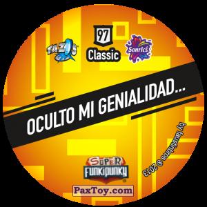 PaxToy.com - Фишка / POG / CAP / Tazo 097 Ashley (Сторна-back) из Gamesa: Super Funki Punky