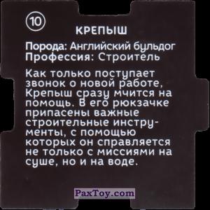 PaxToy.com - 10 Пазл - Крепыш (Сторна-back) из Растишка: Щенячий патруль